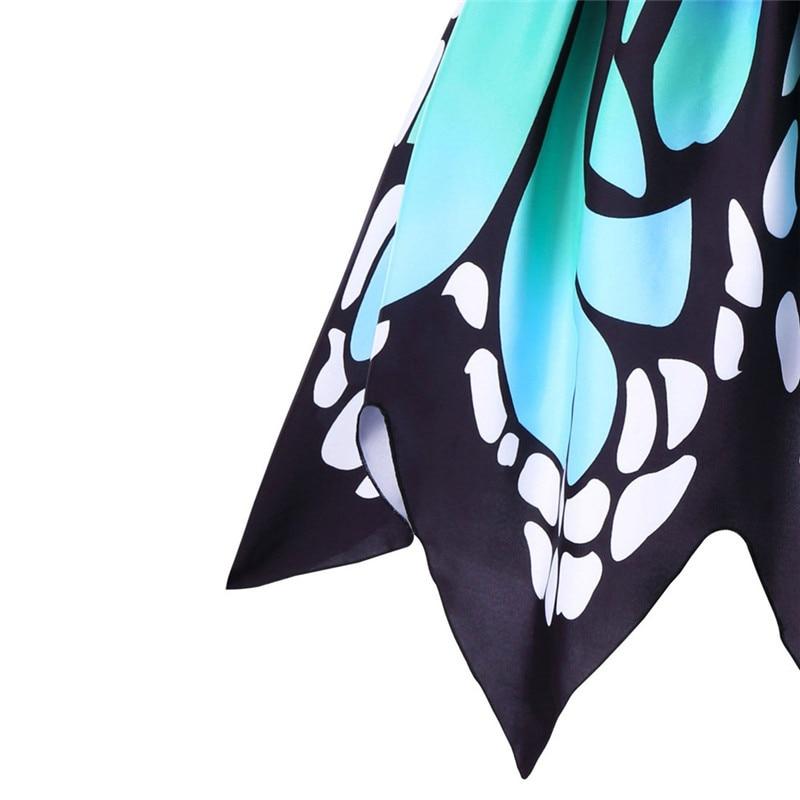 Robe Papillon inspirée des années 50 jusqu\'au 5XL