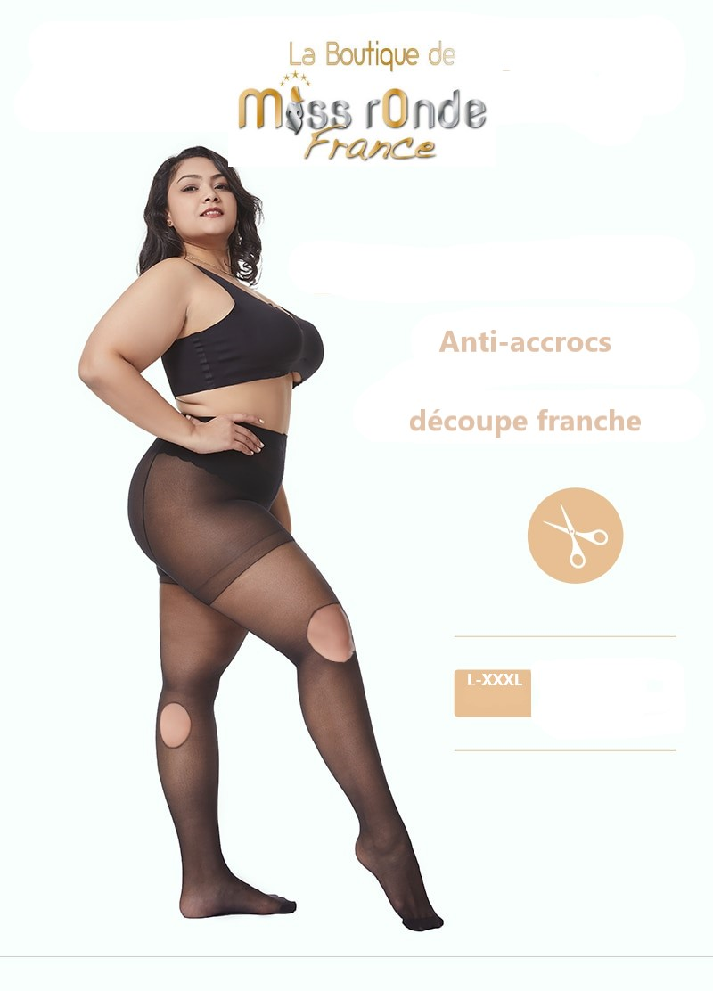 collant grande taille miss ronde
