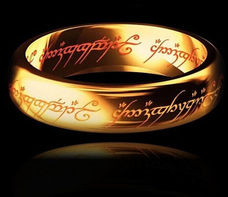 Anneau mon précieux or, argent, noir, platine pour hommes ou femmes