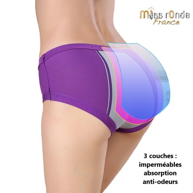 La culotte menstruelle du M au XL