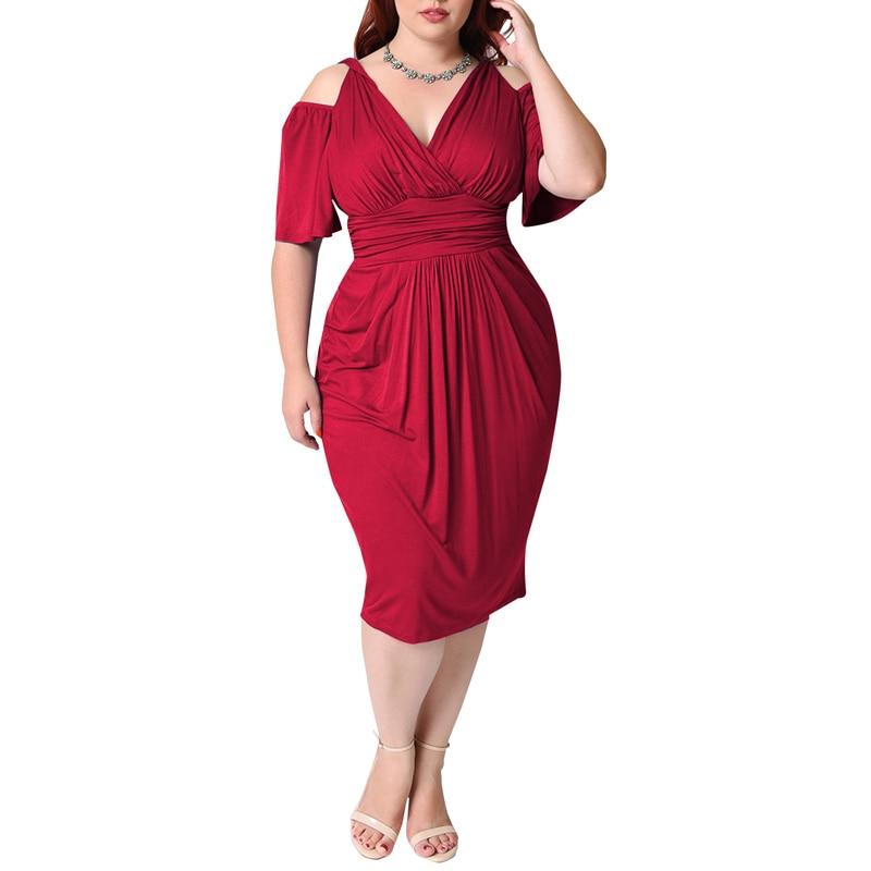 Robes grandes tailles jusqu\'au 5xl robe de bal épaule nue