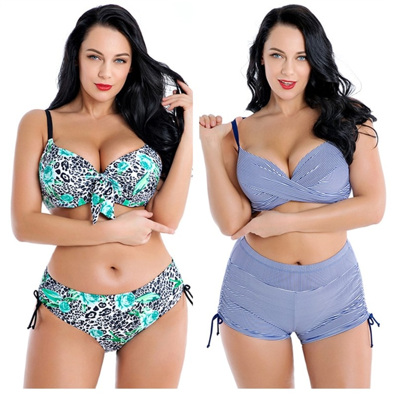 Bikinis, grandes tailles, motifs divers du 4XL au 8XL