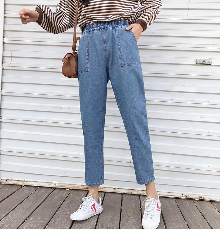 Jeans taille haute, grande taille, du S au 5 XL