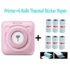 P-ripage-Mini-imprimante-thermique-Portable-poche-Photo-imprimante-thermique-58mm-tiquette-autocollant-Machine-sans-fil
