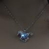 Nouvelle-Arriv-e-Lumineux-Bijoux-Creux-Cheval-Pendentif-Collier-Lueur-dans-le-FONC-nuit-lumineux-cadeau