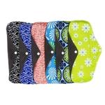 5-pi-ces-Dame-R-utilisables-Tampons-En-Tissu-Avec-Bambou-Coton-Int-rieur-Tissu-Jour
