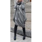 VONDA-chaud-couleur-unie-robe-d-hiver-d-contract-manches-longues-col-roul-sweat-shirts-pull