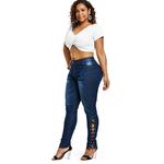 PlusMiss-Plus-Taille-5XL-Zipper-Fly-Sexy-Side-Lace-Up-Jeans-Femme-Taille-Haute-Crayon-Denim