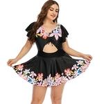 Imprim-Floral-grande-taille-femmes-maillots-de-bain-une-pi-ce-grande-taille-maillot-de-bain