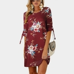 2019-Femmes-robe-d-t-Boho-Style-mousseline-de-soie-imprim-floral-robe-de-plage-Tunique