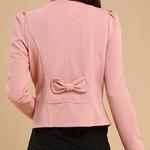 2019-l-gant-nouveau-mode-femmes-Blazer-femme-manteau-veste-Corsage-Outwear-noir-jaune-blanc-rose