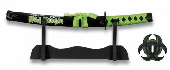 Katana Zombie tranchant 45cm compact + socle - IMPERIAL