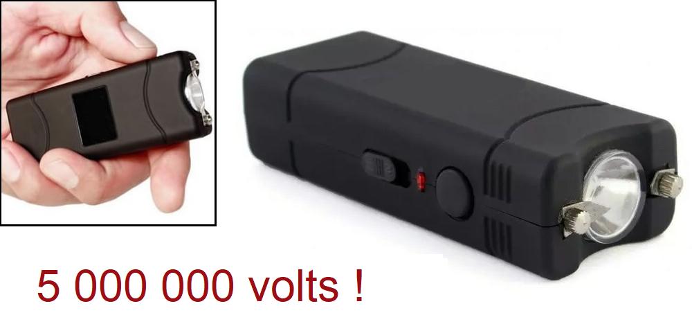Taser de poche électrique + étui - Tazer shocker 5 000 000 volts !