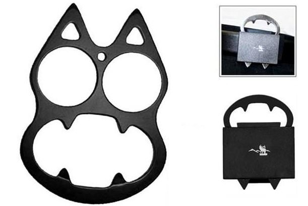Cat_Face_Evil_Look_Mini_Knuckle_Black