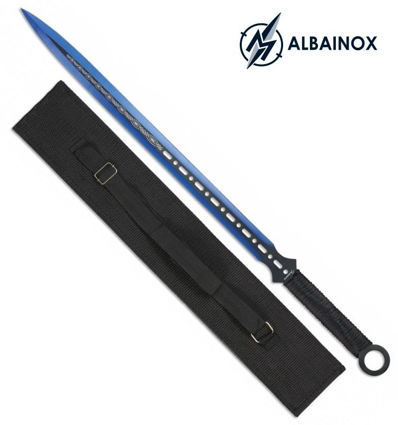 Machette épée 71cm tout acier katana - ALBAINOX
