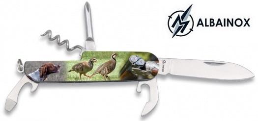 Couteau multifonction acier 5 outils ALBAINOX Chasse