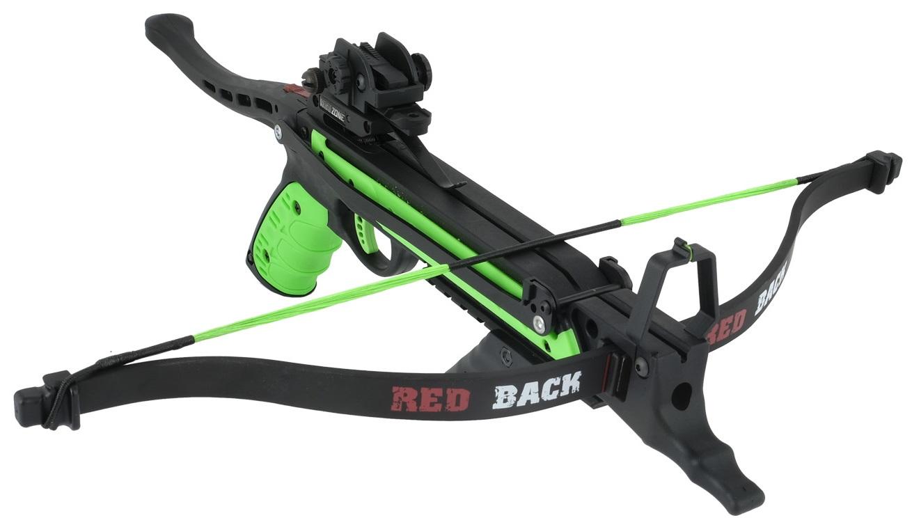 Arbalète pistolet 80 lbs REDBACH + 3 flèches