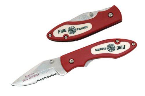 Couteau sapeur pompier 18,5cm fire fighter
