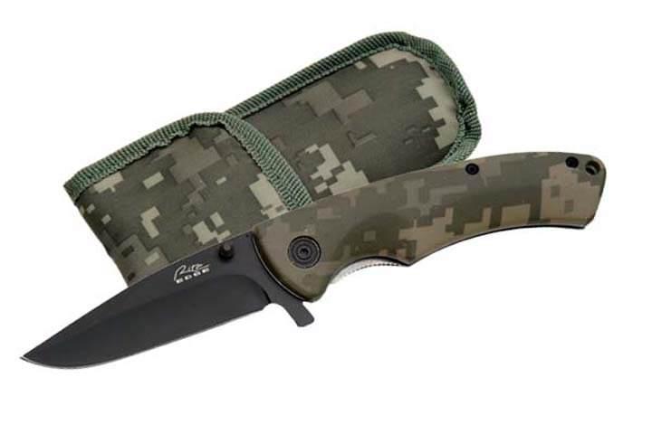 Couteau militaire camouflage 19,5cm