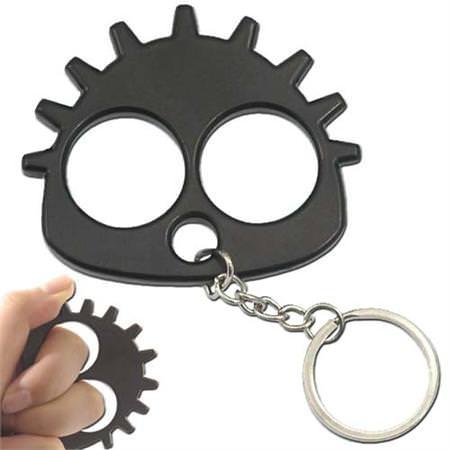 Knuckle_Gearhead_Slammer_Keychain_Black