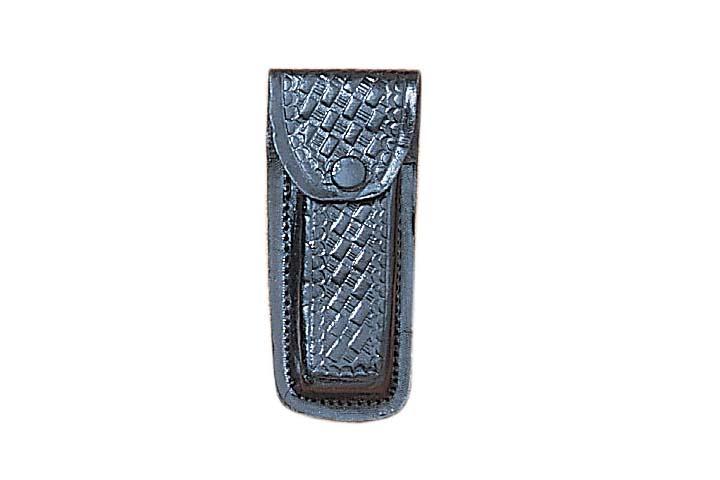 Petit étui cuir noir couteau - gaine, housse, pochette