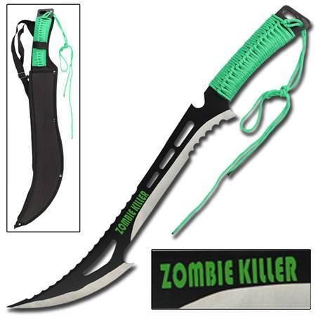 Machette zombie killer 60 5cm p e full tang machettes - Achat machette coupe coupe ...