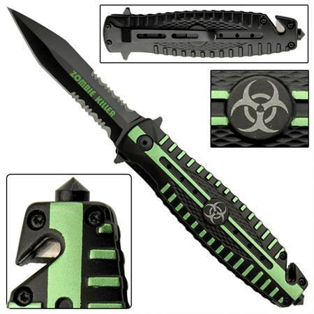 Couteau pliant Zombie Killer, Biohazard - AZ937