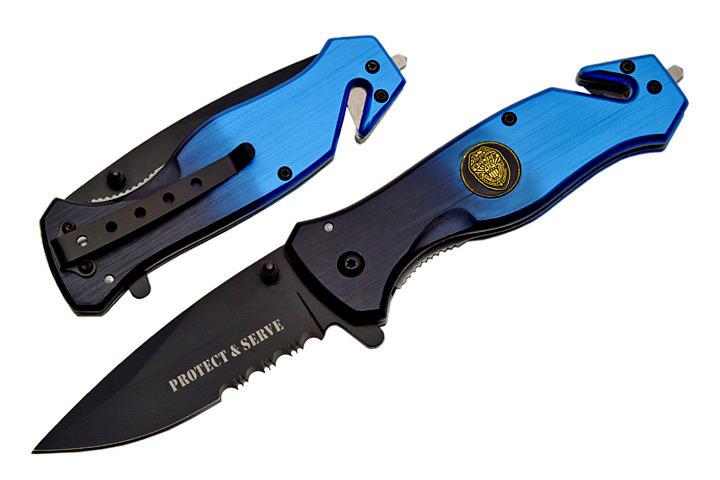 Couteau pliant Police USA - SE566PD