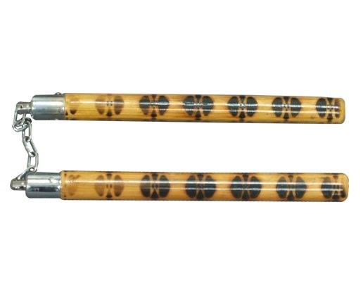 Nunchaku tradition en bois déco - NC275C