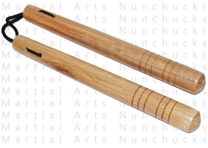 Nunchaku en bois avec corde - CLD60