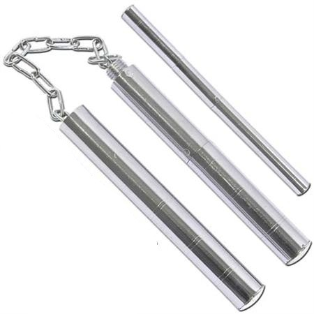 Nunchaku - matraque en acier + chaine - CLD66