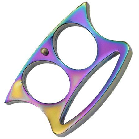 Poing américain multicolore, tête en acier - EM0083T