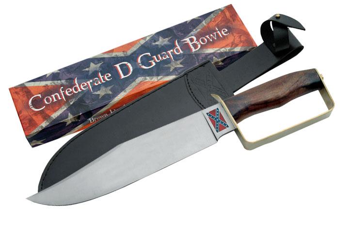 Poignard confédération USA, couteau bowie - P3292