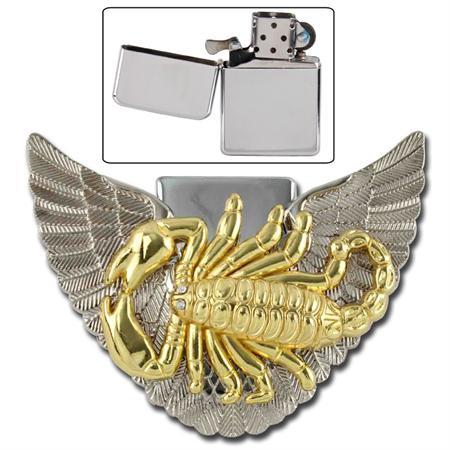Divine_Golden_Scorpion_Belt_Buckle_Lighter