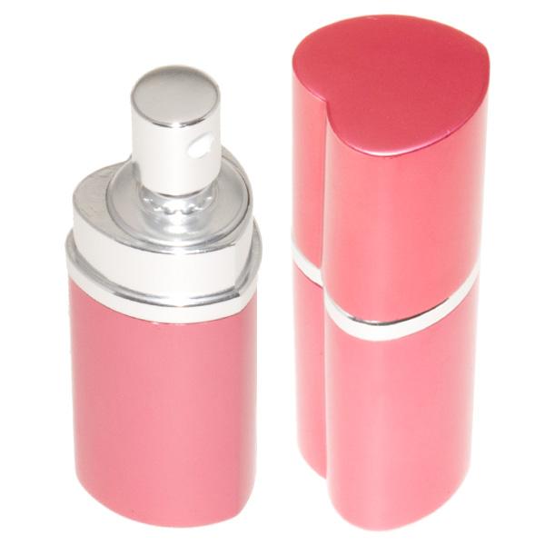 Bombe lacrymogène 25ml poivre, leurre parfum rose