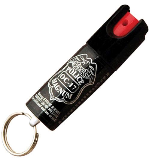 Bombe lacrymogène 20 ml poivre, aérosol spray