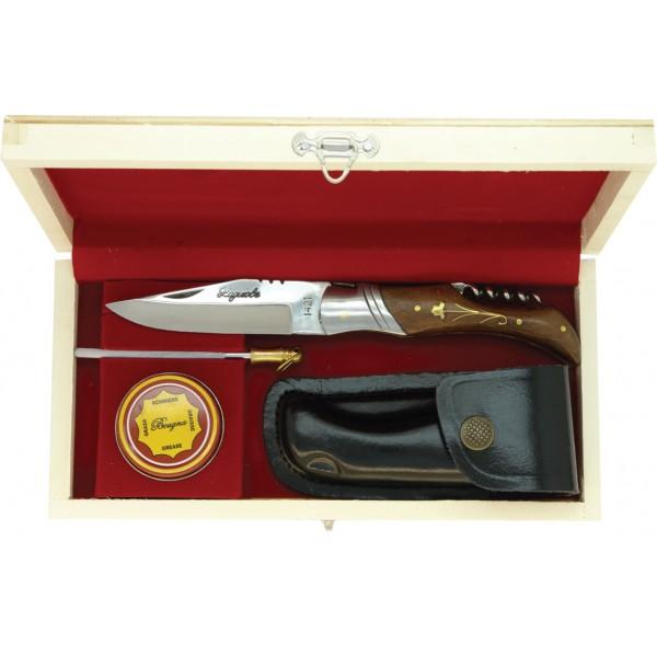 Coffret en bois Laguiole couteau