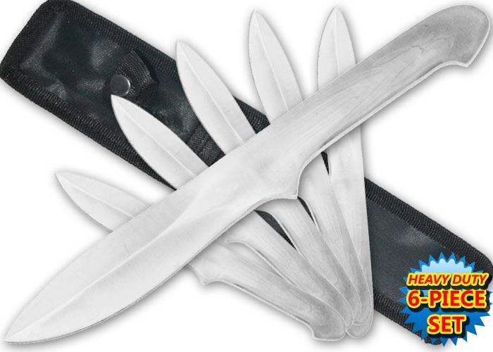 6 Couteaux Assassin's Creed 27cm - couteau jet