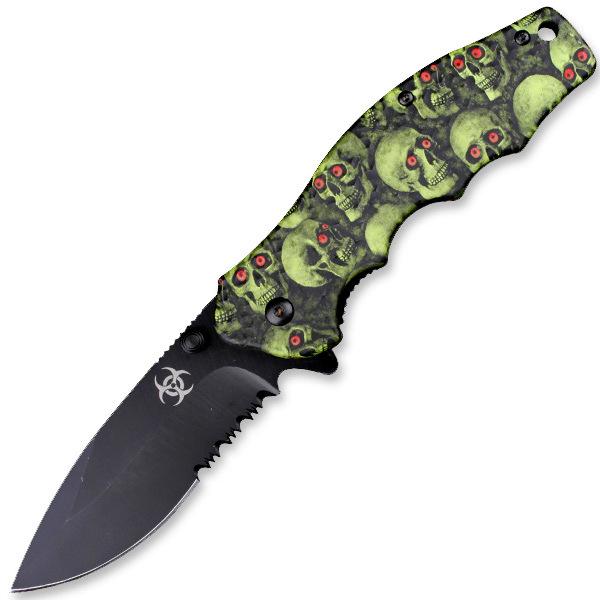 Couteau Squelette 19,5cm - KS331GN