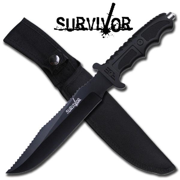 Poignard de survie 33cm - Couteau tactique HK718