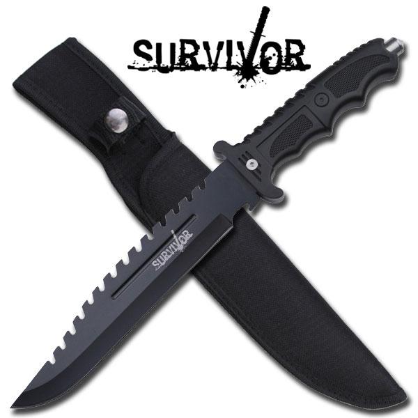 Poignard de survie 34cm - Couteau tactique HK710