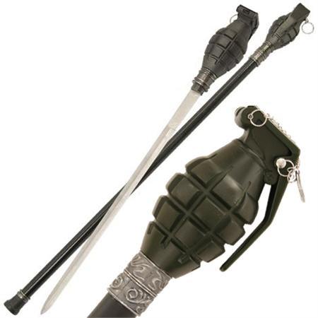 Canne épée Grenade 81cm - AZ11R