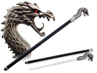 Canne épée Dragon 89cm - SW822CD
