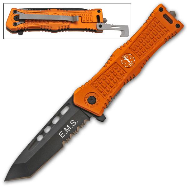 Couteau tanto tactique 20,5cm urgence - CLD161