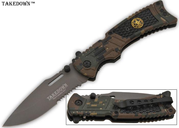 Couteau pliant tactique 20,5cm - fusil K267