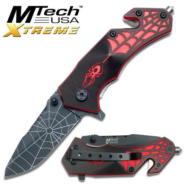Couteau Spider 15,5cm - métal MX42RS