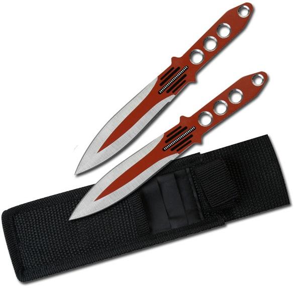2 Couteaux red de lancer, couteau - TK0113R
