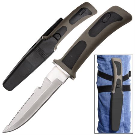 Couteau de plongée 23,5cm - poignard WG999