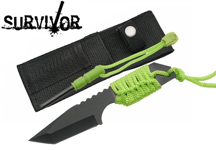 couteau de survie allume feu
