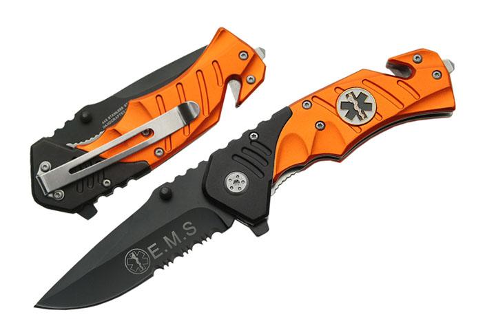 Couteau EMS urgence métal 19,5cm - EMS921